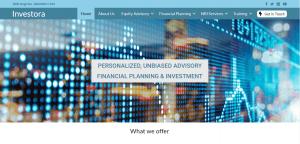 eScalent Websites Portfolio Picture - investora.in